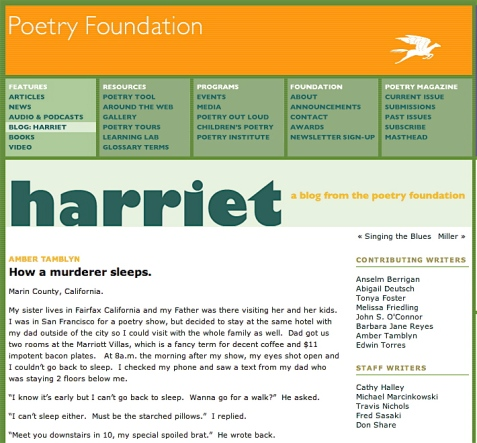 Poetry Foundation Scarriet