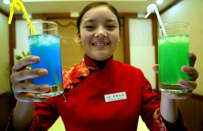 Oriental Waitress Serving Drink 3.jpg