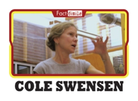 Cole Swensen Poetry Trading Card