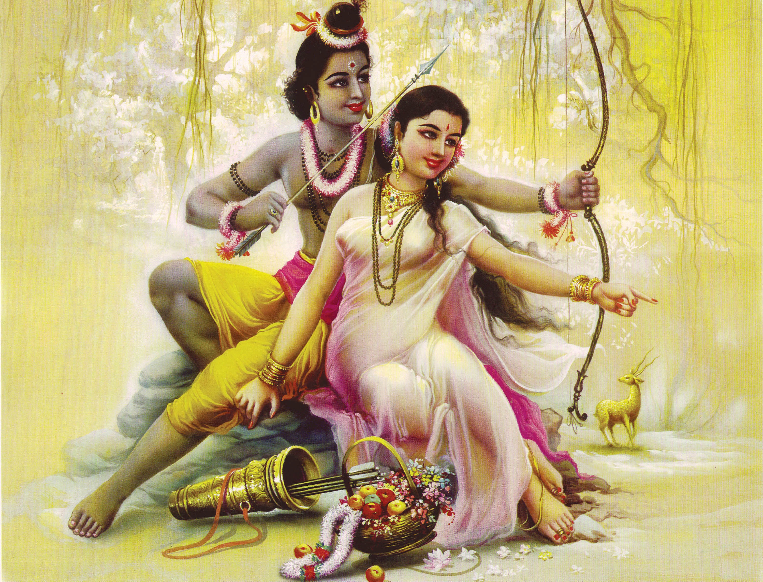 scarriet poetry culture page  the ra ana is a divine r ce of undying love between sita and rama two aspects of one divinity whose separation from each other is illusion acted out
