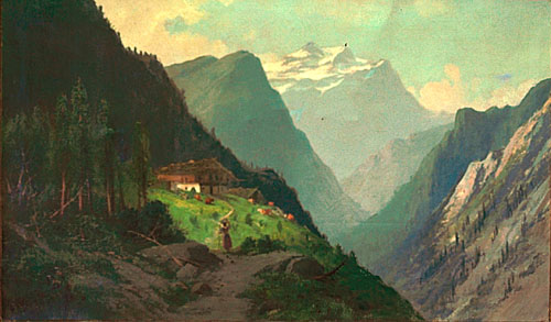Image result for the mountains in renaissance painting