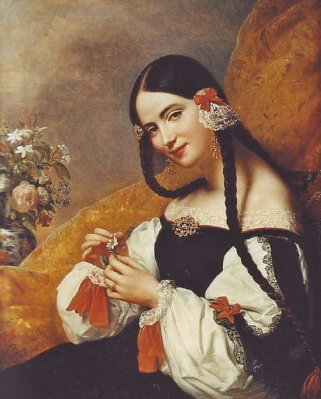 Image result for spanish lady in renaissance painting