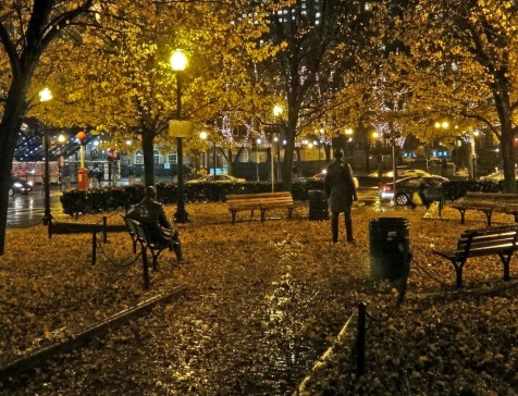 Image result for boston streets at night
