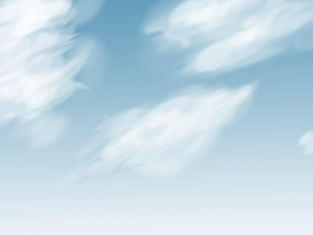 Max's Blog: Quick Blue Sky and Clouds painting